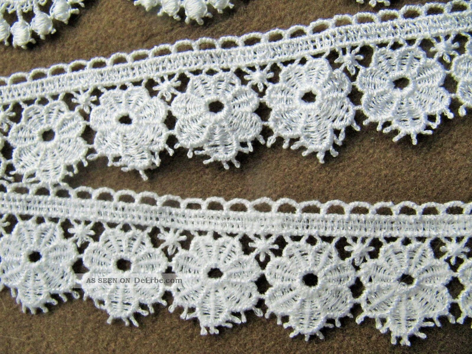 Stücke Tolle Spitze /spitzenborte In Weiß, 140cm, 74cm Textilien ...