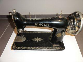 Singer Nähmaschine Antik In Einem Guten Bild