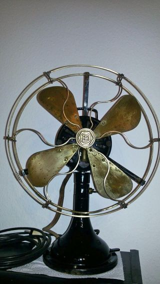 Seltener Antiker Ventilator / Rare Antique Fan Bergmann - Berlin Bild