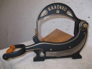 Seltene Aufgearbeitete Raadvad Brotschneidemaschine,  Brotmaschine,  Brotschneider Bild