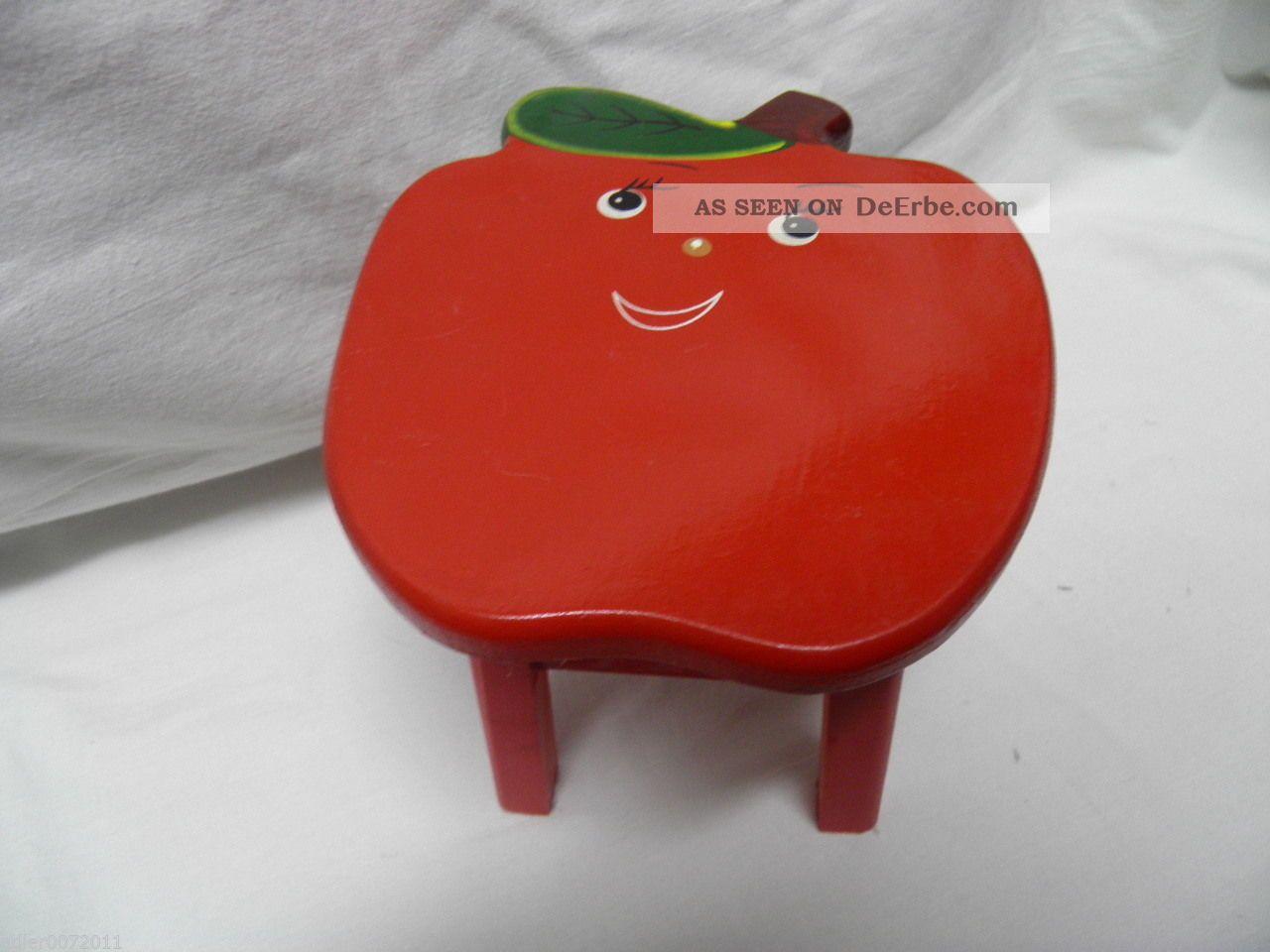 Puppenstuhl Stuhl Für Große Puppe Aus Holz Erdbeere