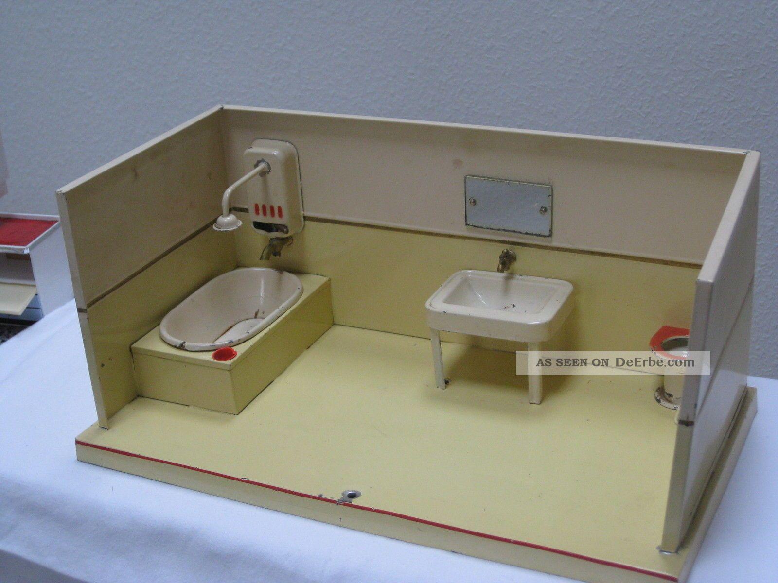antikspielzeug - puppen & zubehör - puppenstuben & -häuser, Badezimmer ideen