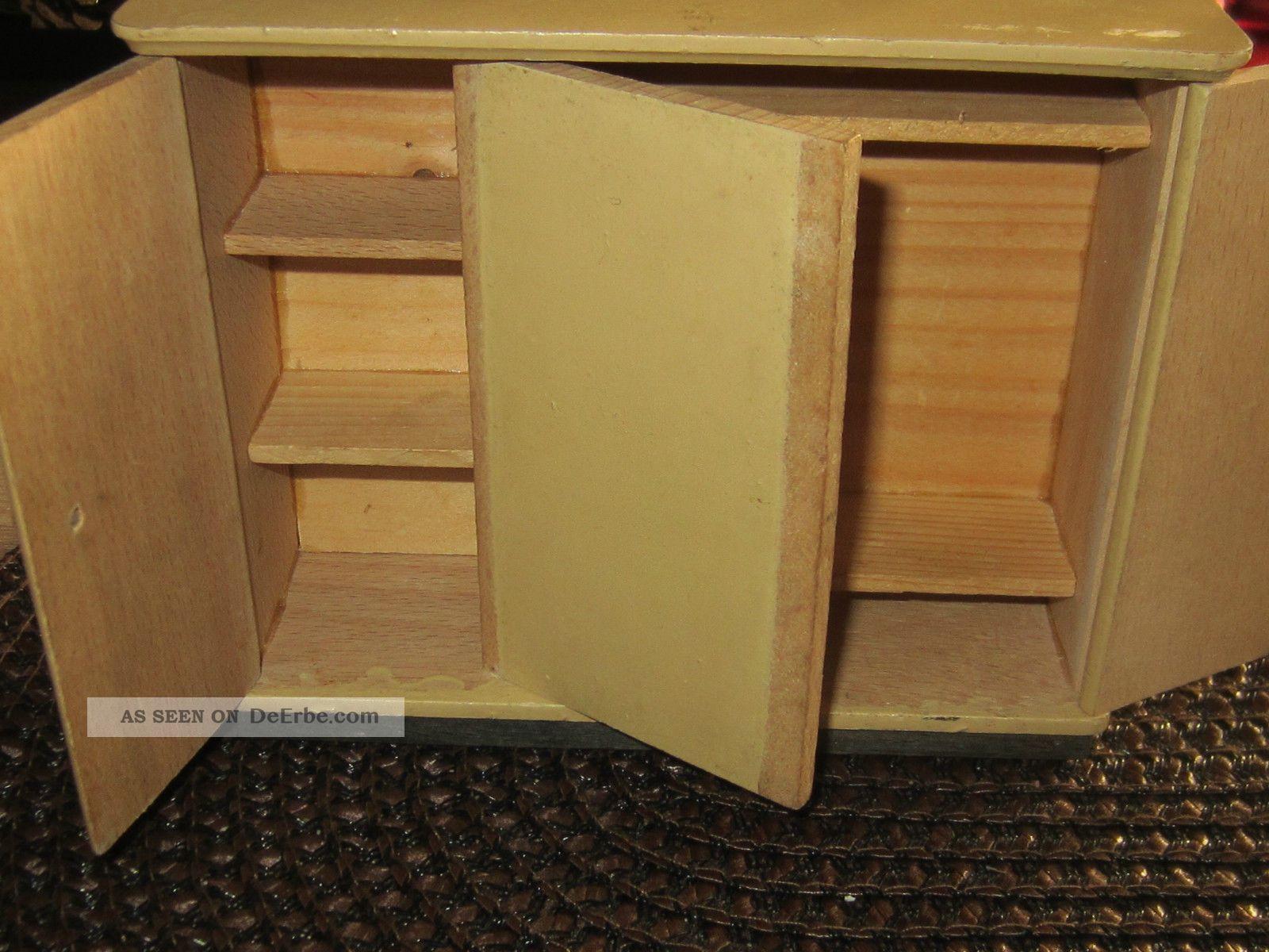 puppenstuben schlafzimmer 5 teilig. Black Bedroom Furniture Sets. Home Design Ideas