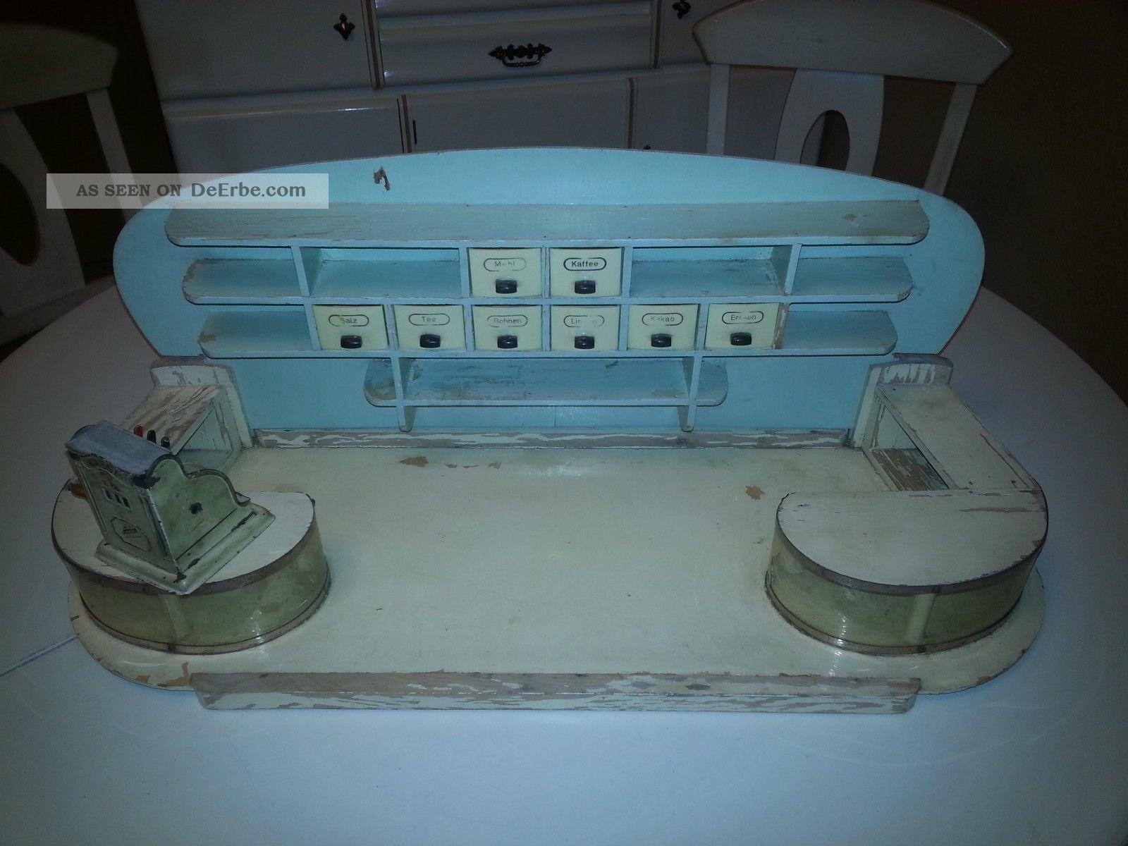 alter kaufmannsladen mit anfoe kasse zum restaurieren. Black Bedroom Furniture Sets. Home Design Ideas