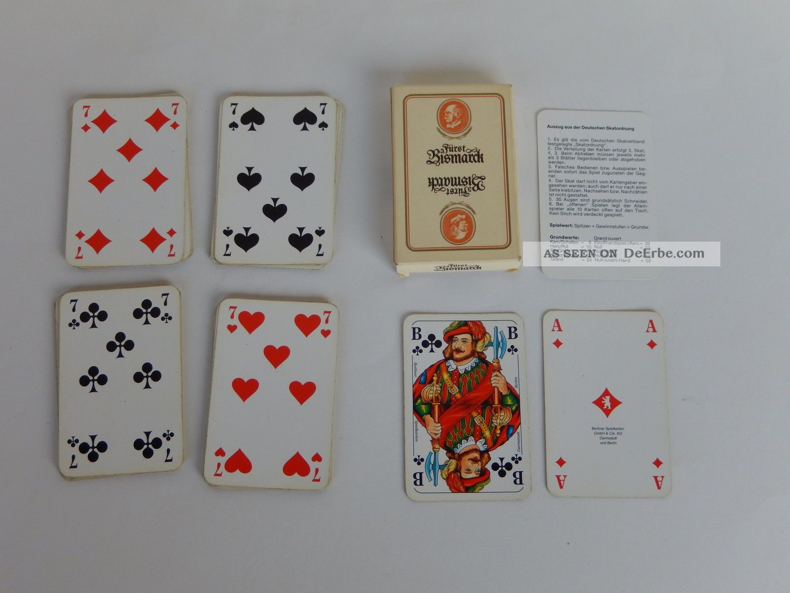 """Russische Spielkarten /""""Suvenirnie/"""" 1992 ORIGINAL"""