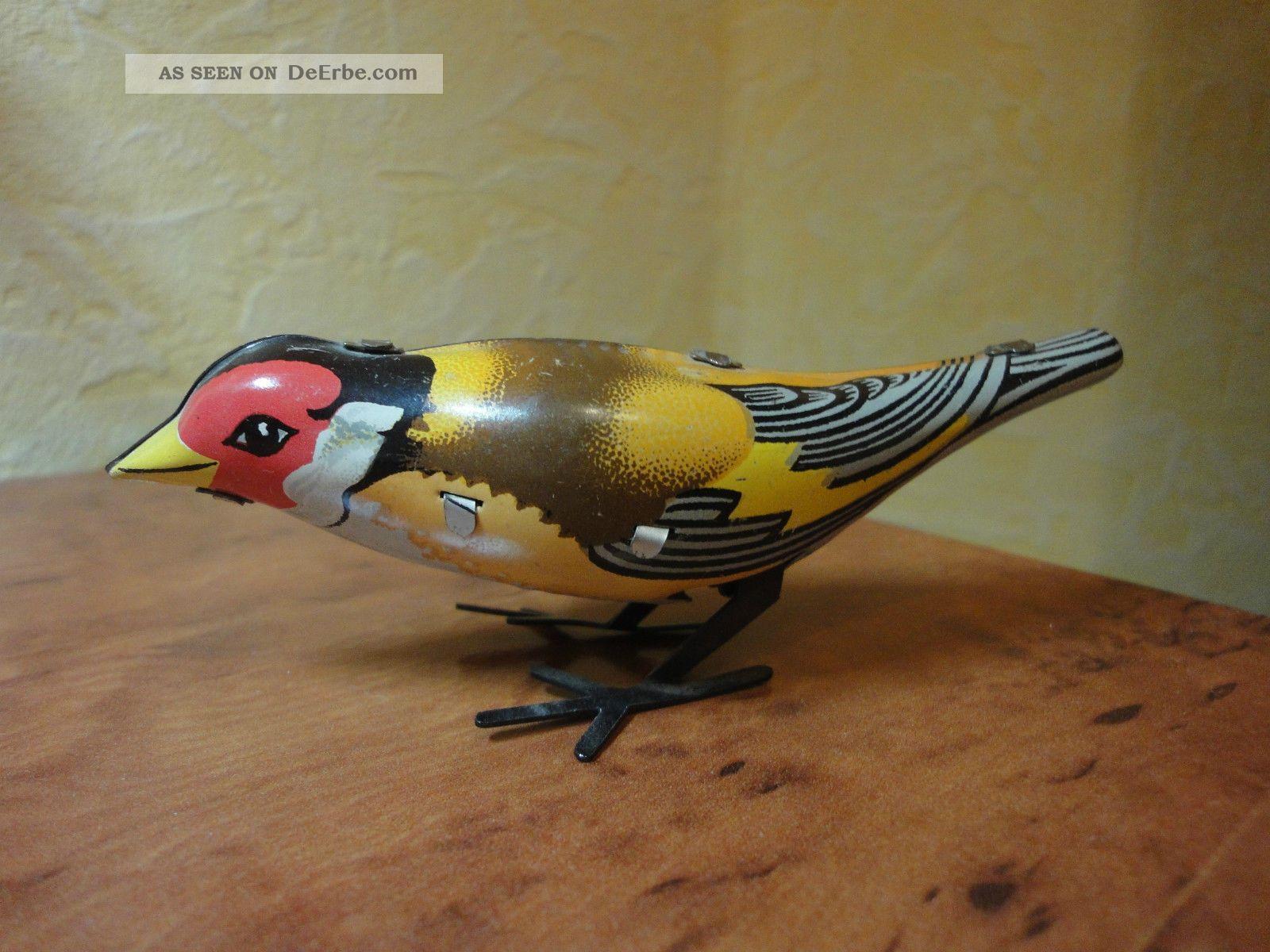vogel aus blech zum aufziehen blechspielzeug blechtier. Black Bedroom Furniture Sets. Home Design Ideas