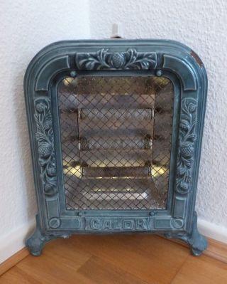 Antikes Heizgerät Jugendstil Heizradiator Dekorationsobjekt Sammlerstück Bild