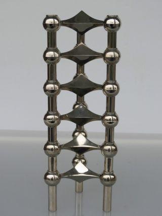 6 Nagel Quist Bmf Kerzenständer Steckmodul Kerzenhalter 70er Jahre Bild