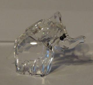 Swarovski Kristall Glas Figur Crystal Elefant Elephant 45mm Bild