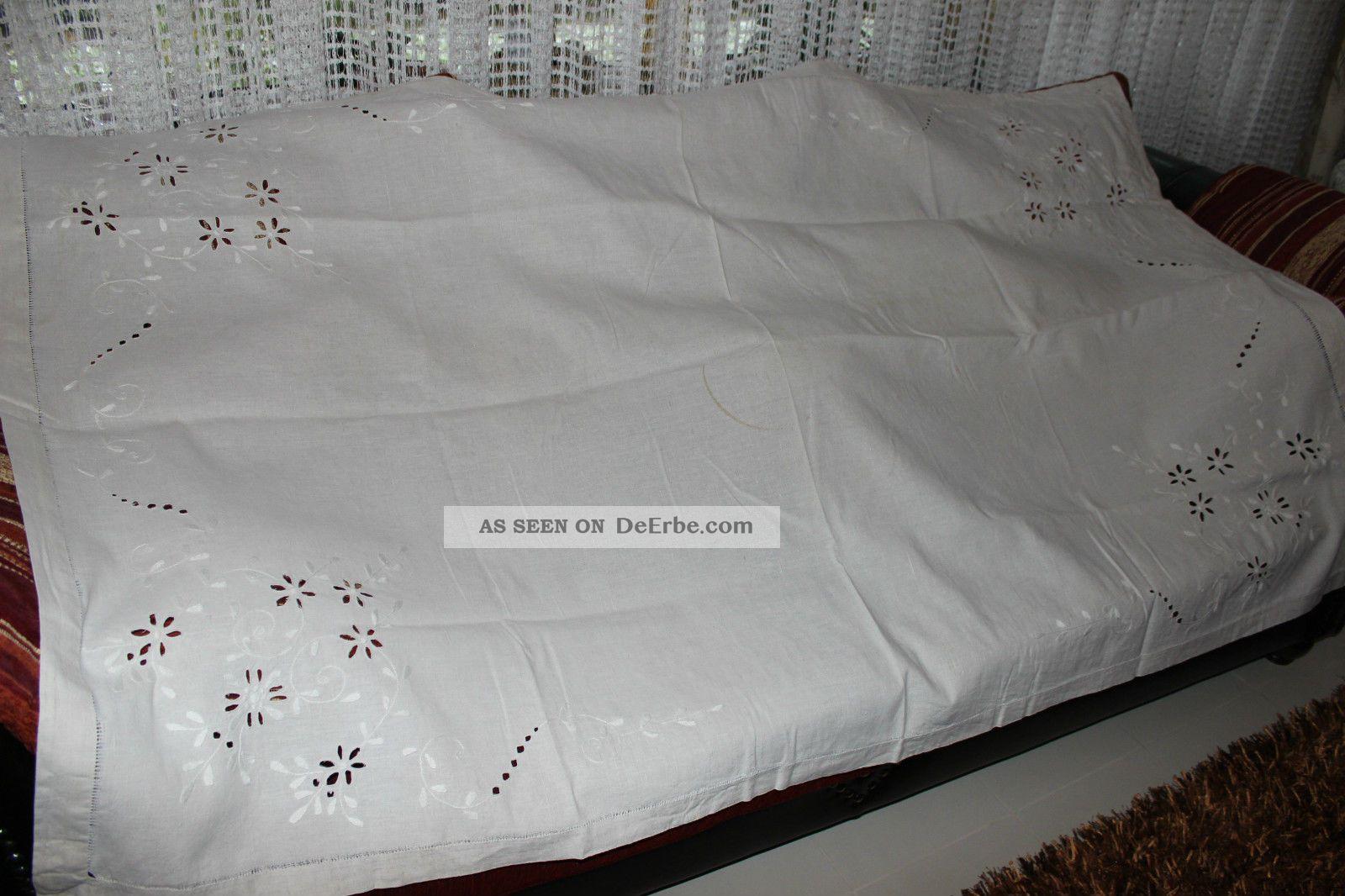 weihnach idee antik leinen tischdecke blumen loch stickerei hohlsaum. Black Bedroom Furniture Sets. Home Design Ideas