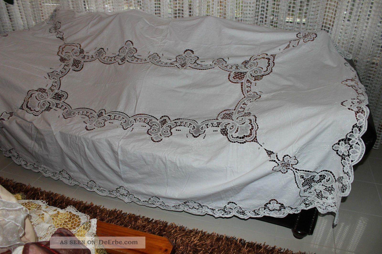 weihnach idee gro hochzeit tischdecke b ndchen spitze stickerei 160x240. Black Bedroom Furniture Sets. Home Design Ideas