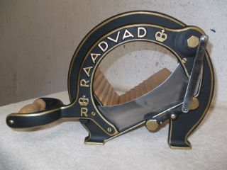 Aufgearbeitete Raadvad Brotmaschine,  Brotschneidemaschine,  Brotschneider Bild