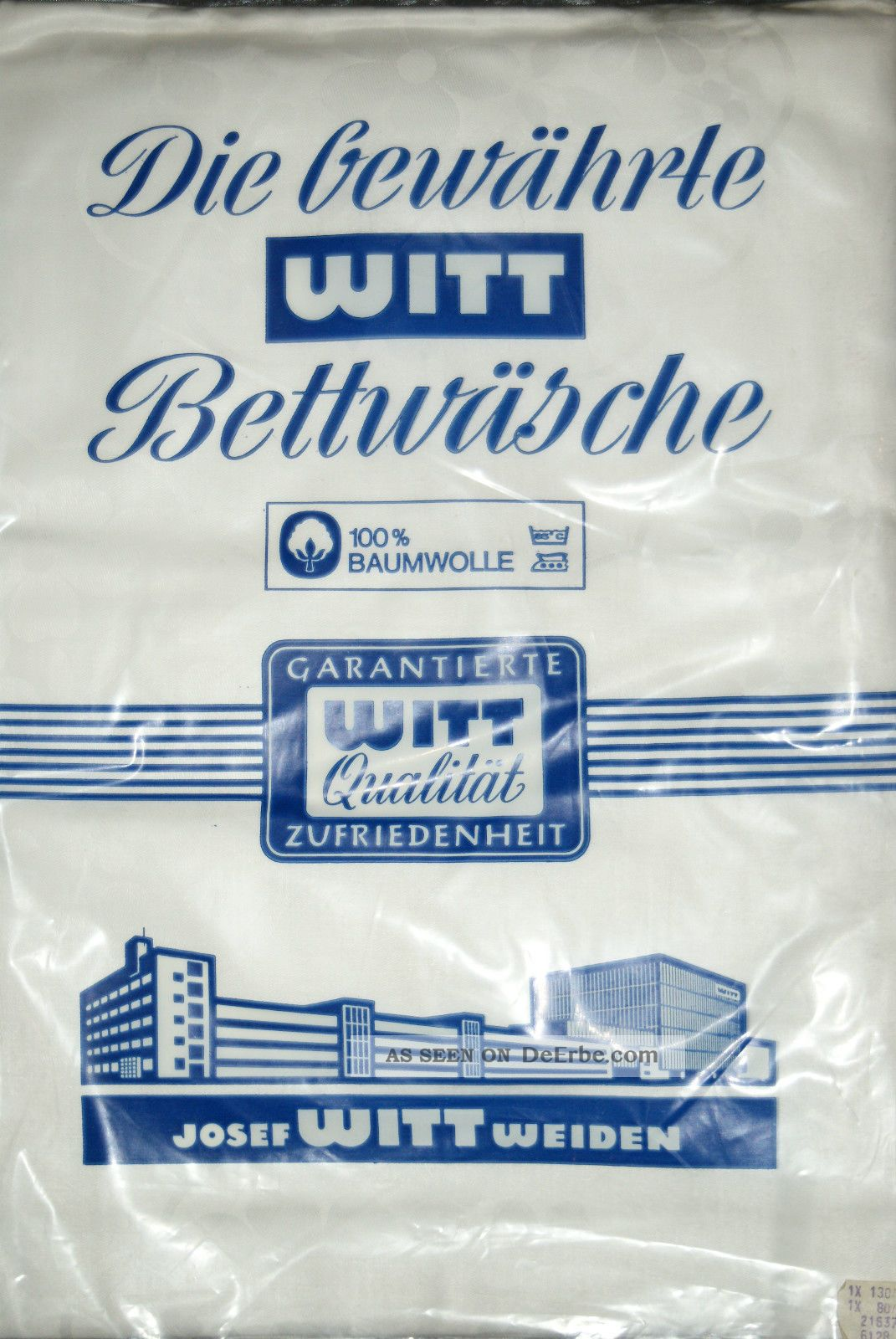 Und Ovp Luxus Damast Brokat Bettwäsche 4 Tlg Glänzend Aussteuer Witt