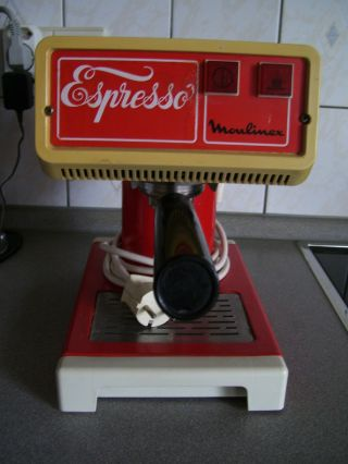 Vintage Espresso Maschine Kaffeemaschine Moulinex Aus Den 60er - 70er Jahren Rar Bild