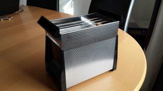Rowenta Toaster Zweiteilig Verchromt 60er 70er Jahre 1000 Watt Bild