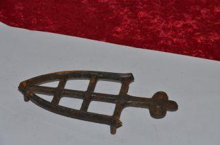 Kleiner Orig Antiker Seltener BÜgeleisen Untersetzer Bild