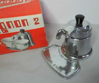Mignon 2 Tazze Nuova Omd Italy Kleine Espressomaschine Kaffeemaschine Bild