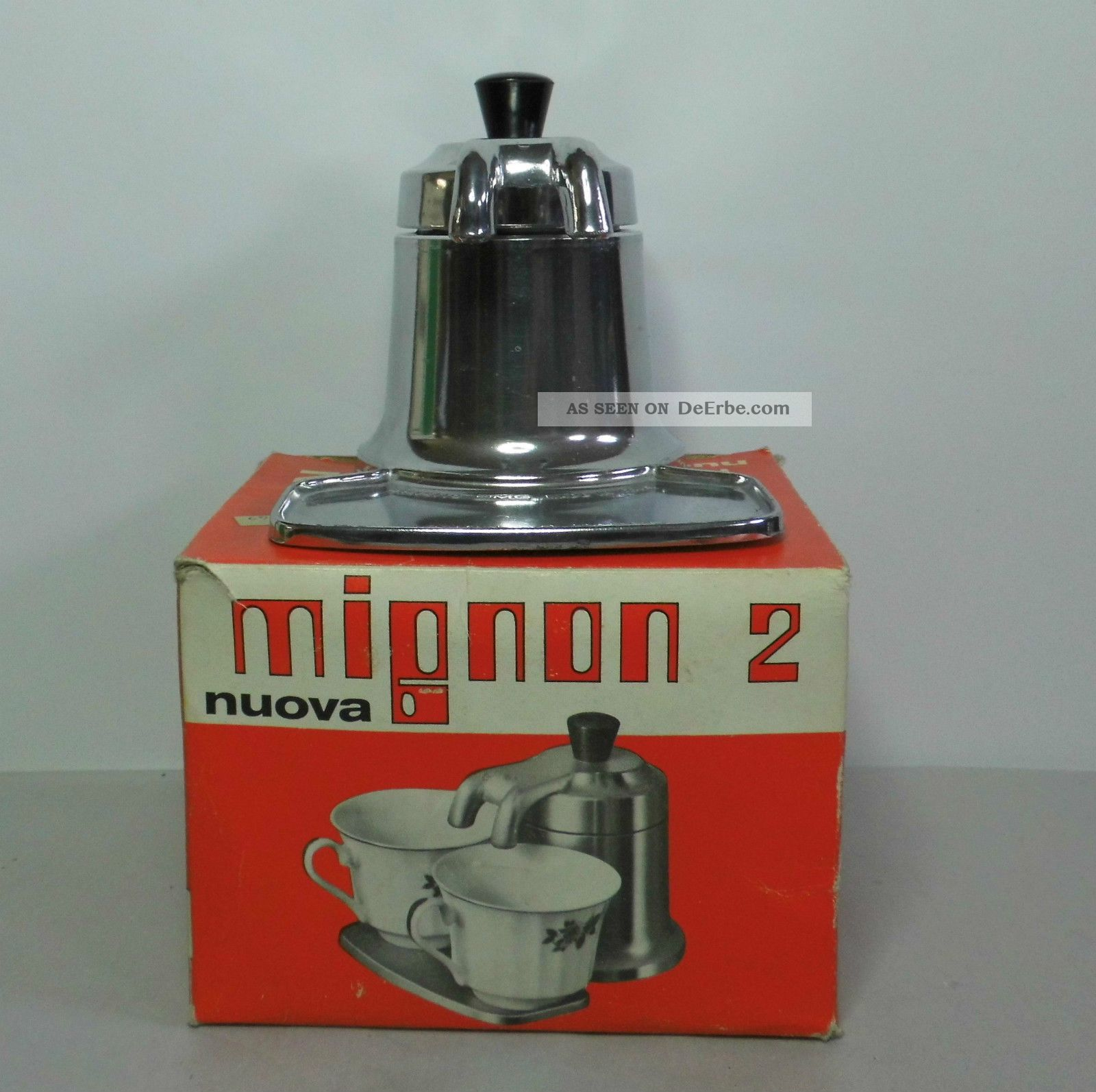 Mignon 2 Tazze Nuova Omd Italy Kleine Espressomaschin -> Kaffeemaschine Italien