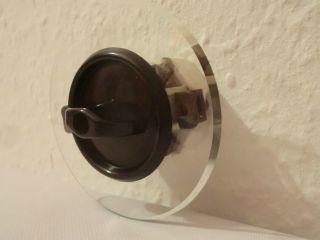 Nostalgie Schalter Drehschalter Lichtschalter Up Bakelit Glasblende Porzellan Bild