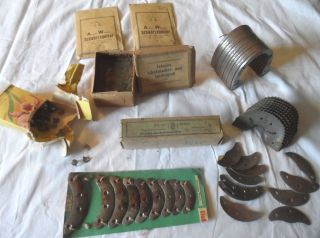Schuhmacherbedarf,  Schusterartikel,  Viele Versch.  Teile,  Sehr Alt,  Sammlerstücke Bild