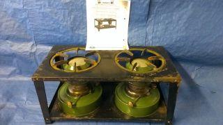 Petroleum Ofen 2 X Turm Doppel Petroleumofen Kerosene Stove Heater Bild