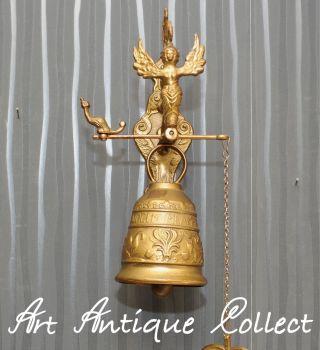 Messing Haustürglocke Alte Glocke Türglocke Wandglocke Bild