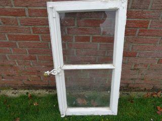 Historisches Sprossenfenster Aus Holz / Vintage/ Shabby Chic/ Deko 2 Bild