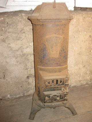 Kanonenofen Gußeisener Ofen Vesuv Funktionstüchtig Bild