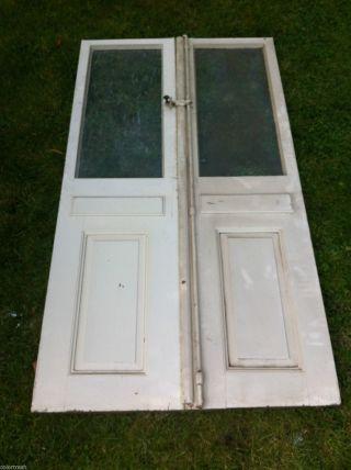 Doppelflügeltür Mit Glas Für Innenraum,  Oberlicht,  101 X 188 X 4 Cm,  Nähe Hh, Bild