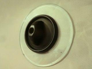 Antik Schalter Drehschalter Lichtschalter Up Bakelit Glasblende Vintage Art Deco Bild
