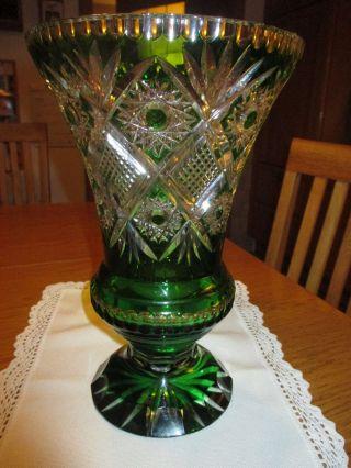 Kristallvase (amphore) Bild