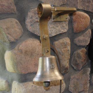 Alte Bronze Nr.  13 Ladenglocke / Türglocke /tante Emma Ladenglocke // Bild