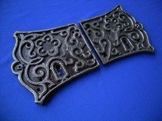 Antike Schlüsselschilder,  Türbeschläge Bild