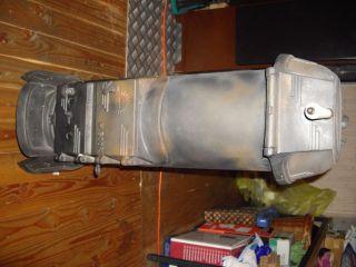 Holzofen Kaminofen Gussofen Antik Gusseisen Kanonenofen Juno 500 3/4 Bild