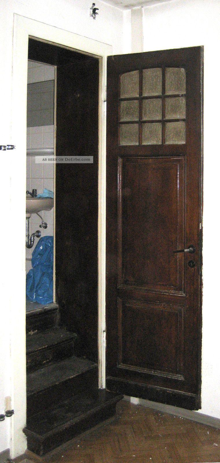 schmale hohe t r m glasteil zimmert r t lu 005 sehr gut erhalten 71 5x246 cm. Black Bedroom Furniture Sets. Home Design Ideas