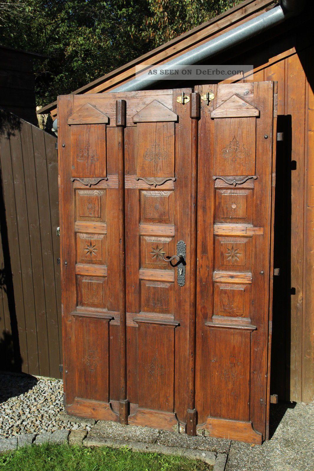 antike alte doppelfl gel t r schnitzereien verzierungen aus einem fachwerkhaus. Black Bedroom Furniture Sets. Home Design Ideas