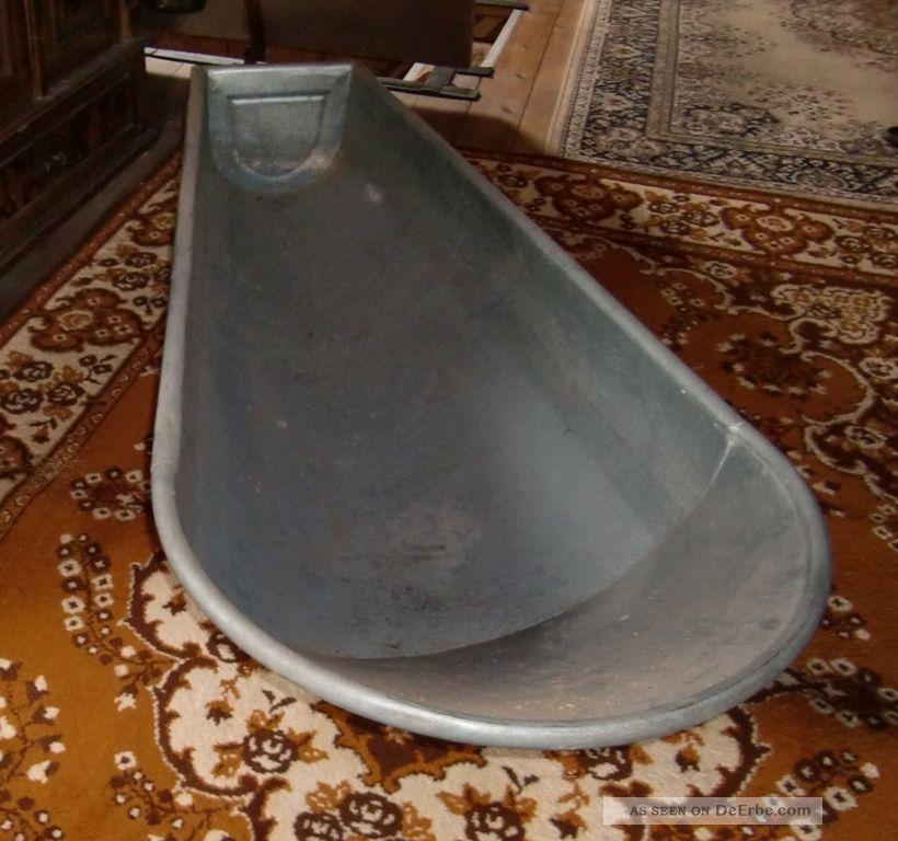 Zinkwanne badewanne zinkbadewanne wanne zum bepflanzen for Gartendeko zum bepflanzen