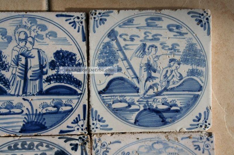 Kachel Fliese Tiles Antik Historische Baustoffe Delft Tegel
