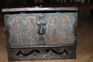 Renaissance Eisenkassette,  Nürnberg Um 1550,  Hochzeitskassette Bild