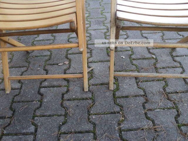 2 st ck klappstuhl gartenstuhl holzstuhl terrasse mit armlehne rarit t. Black Bedroom Furniture Sets. Home Design Ideas