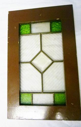 Traum Bleiglasfenster,  1930,  Fcettenglas,  Grünglas,  Riffelglas,  Toilettenfenster Bild