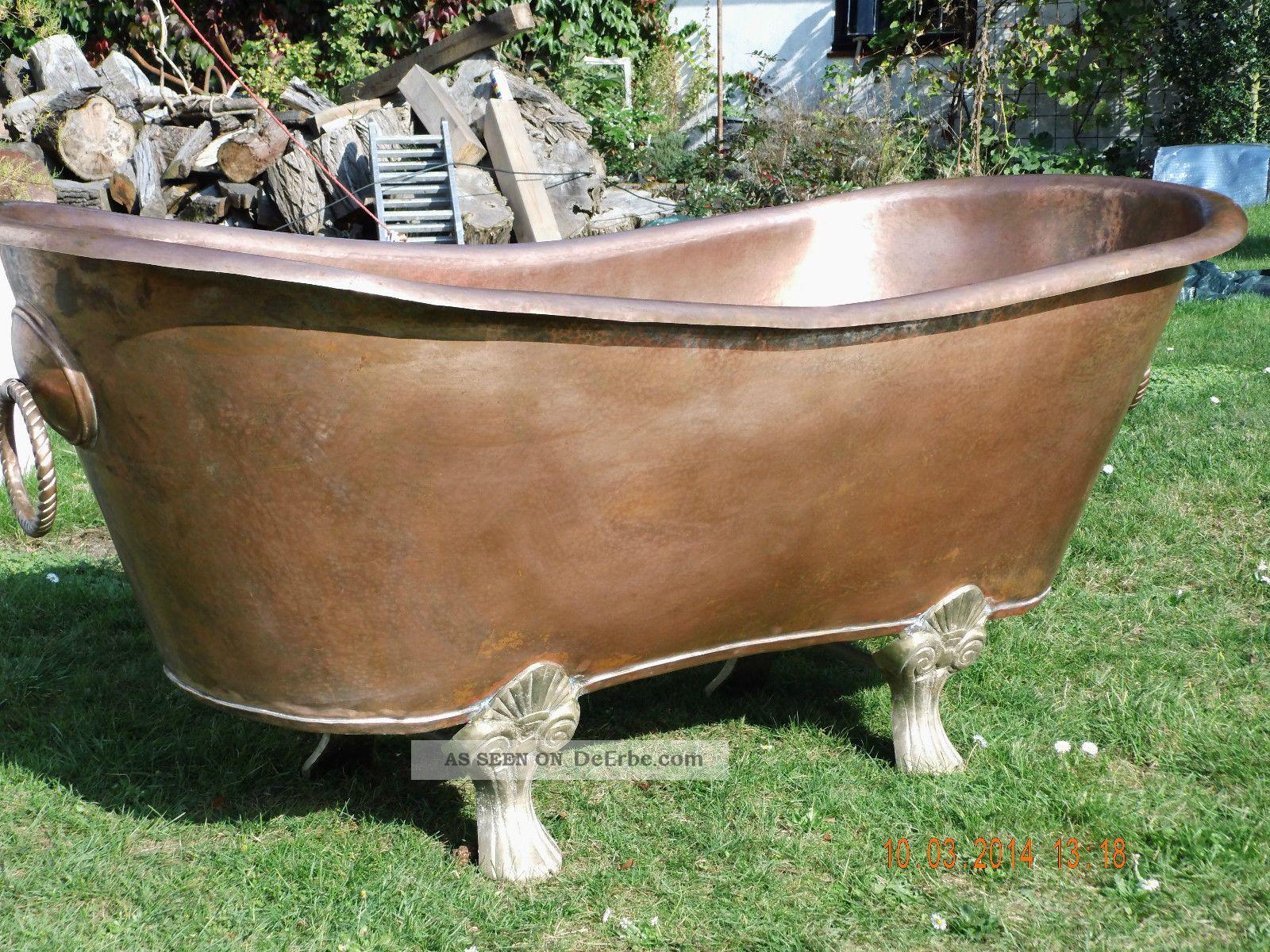 Kupfer Badewanne Badewanne