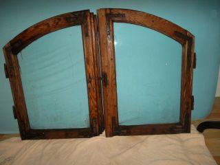Altes Holz - Bauernfenster,  2 Flügel,  Antik Bild