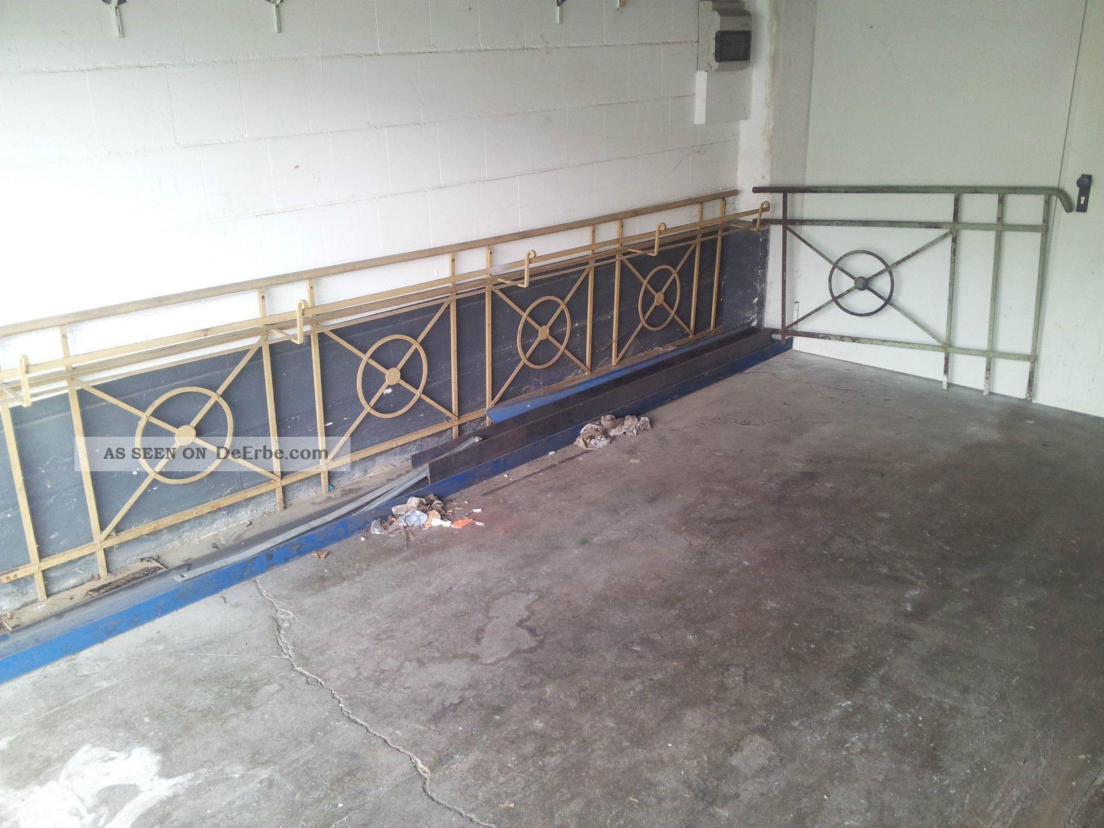 Gelander F Balkon Historisch Antik