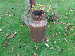 Milchkanne Verkupfert Schirmständer Bauer Kanne Wasserbehälter Bild