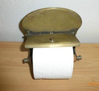 Wc rollenhalter klorollenhalter art deco vintage shabby chic bild for Spiegel wc deco