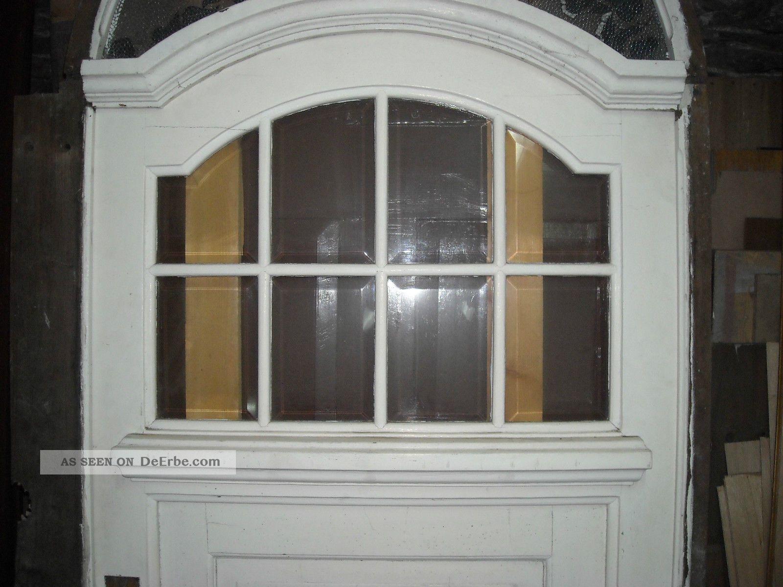 Tür Rundbogen Glas ~ Jugendstil Rundbogen Tür Eingangstür Oberlicht Geschliffenes Glas
