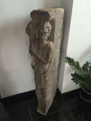 Gotisch E Figur Von Kamin Oder Fenster Um 1400 Ad Bild