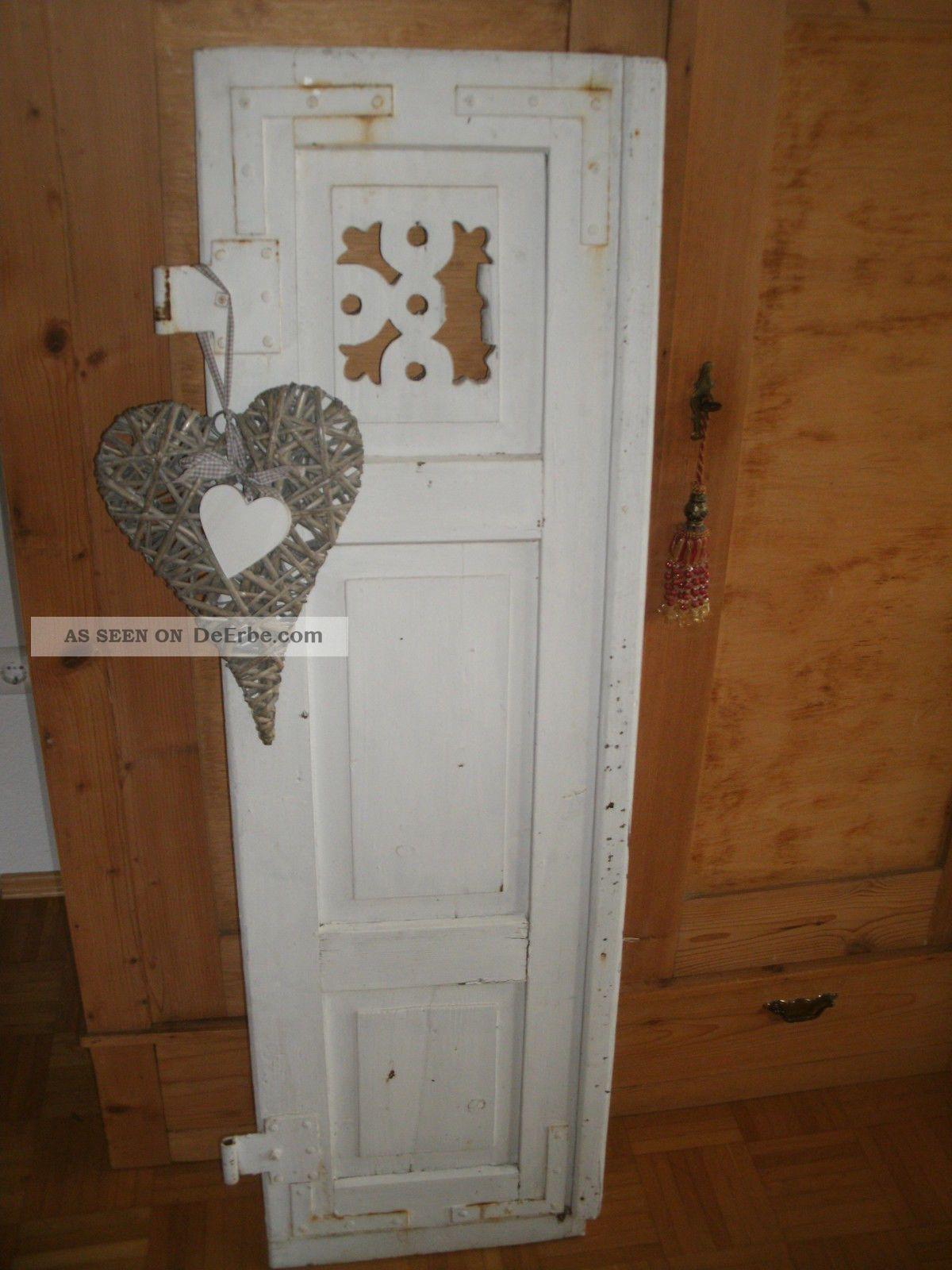 klappladen alt shabby chic landhaus antik. Black Bedroom Furniture Sets. Home Design Ideas