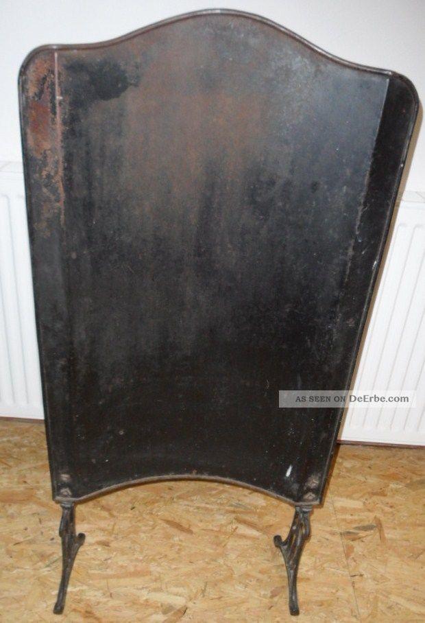 alter funkenschutz f r den kamin kaminschutz hitzeschutz feuerschutz kaminblech. Black Bedroom Furniture Sets. Home Design Ideas